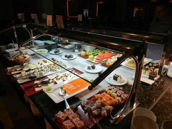 Hotel Coronas Playa: Dessert choice