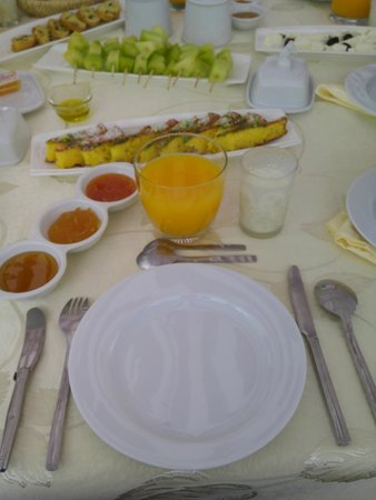 Dar Chams Tanja: El desayuno, increible