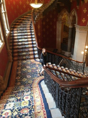 St. Pancras Renaissance Hotel London: Grand staircase