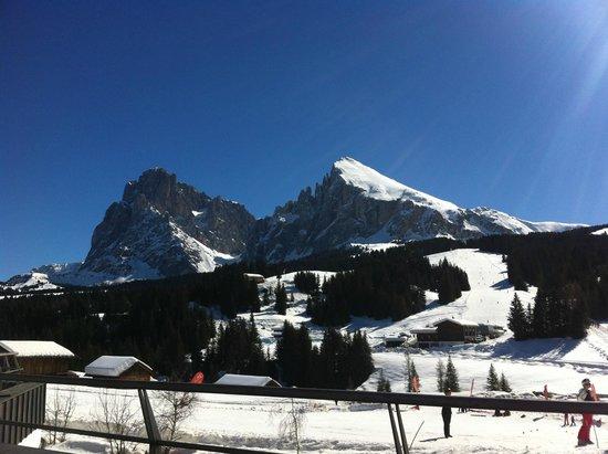 Hotel Saltria - true alpine living: View from terrace