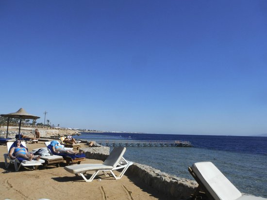 Verginia Sharm Resort: The disappointing beach