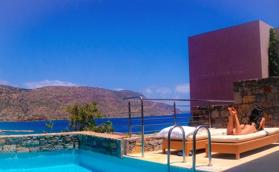 Blue Palace, a Luxury Collection Resort & Spa, Crete: a room with a view