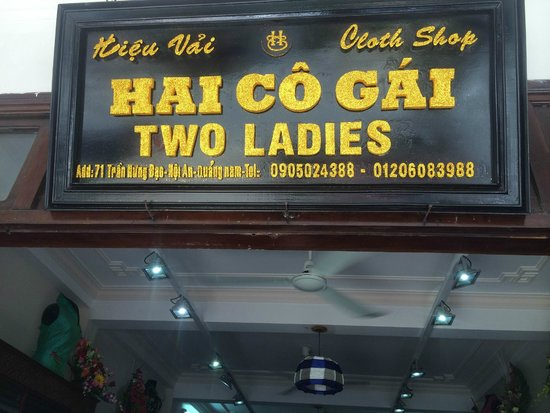 Two Ladies Tailor Shop