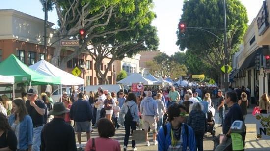 Granada Hotel and Bistro: San Luis Obispo farmers market.