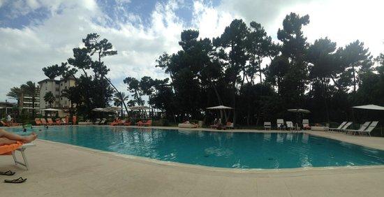 UNA Hotel Versilia : Swimming pool area view