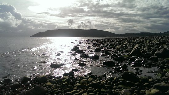 Millers At The Anchor: sunrise in Porlock Weir