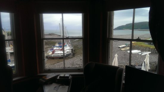 The Millers at the Anchor: view from bedroom 5