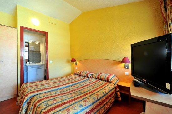 Hôtel balladins Nevers Nord/Varennes Vauzelles : Chambre 2 lits simples