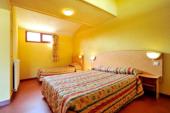 Hôtel balladins Nevers Nord/Varennes Vauzelles : Chambre familiale 2/3 personnes