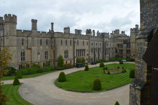Arundel Castle and Gardens: Inner Courtyard