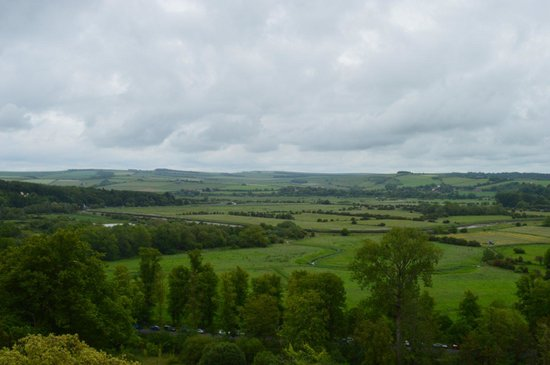 Arundel Castle and Gardens: View from the top