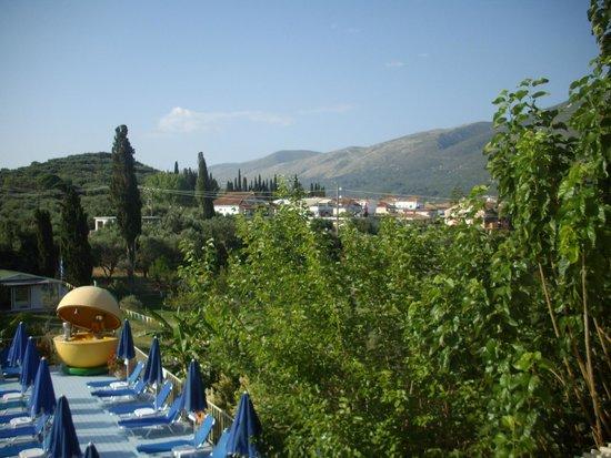 Koukounaria Aparthotel & Suites: view from balcony