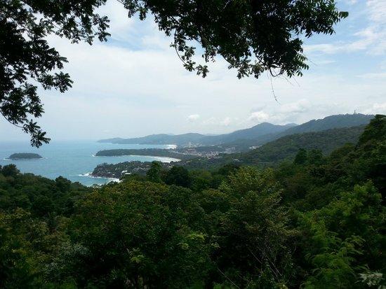 Kata Bai D: Blick vom Kata-Karon View Point