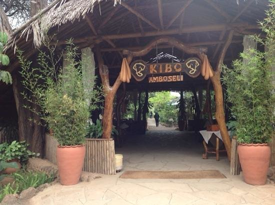 Kibo Safari Camp Reception Area