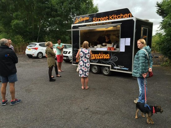 La Cantina Street Kitchen At The Exminster Pitch On A