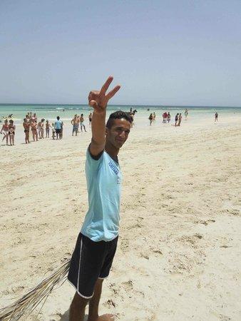 Seabel Rym Beach : Tchitcho, l'animateur antistress