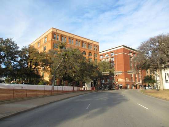 The Sixth Floor Museum/Texas School Book Depository: TSBD from where the final shot hit JFK.