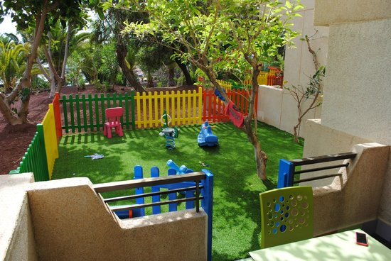 Occidental Lanzarote Mar: Our Private Little Garden from Our Room 3011