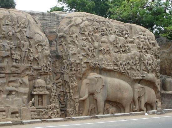 Arjuna's Penance : stunning