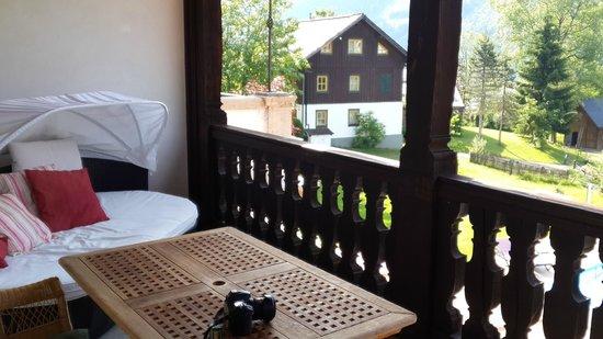 Landhaus Koller: Balcony