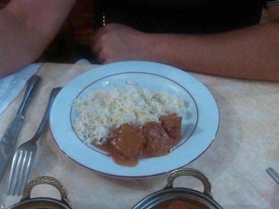 Koh-I-Noor : poulet tikka riz safran