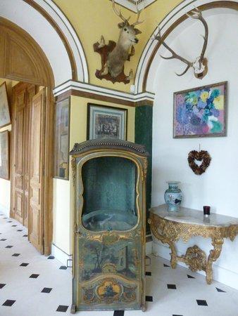 Le Chateau des Moyeux : l'entrée