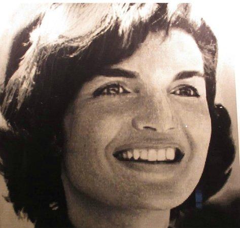 The Sixth Floor Museum/Texas School Book Depository: Jackie's portrait