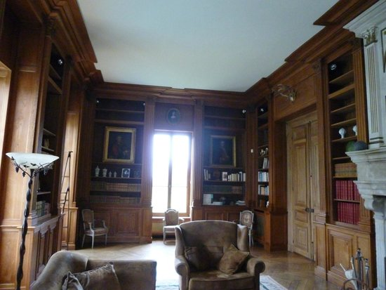 Le Chateau des Moyeux : la bibliothèque