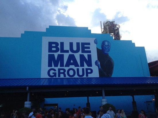 Blue Man Group: Outside Ticket Box Area