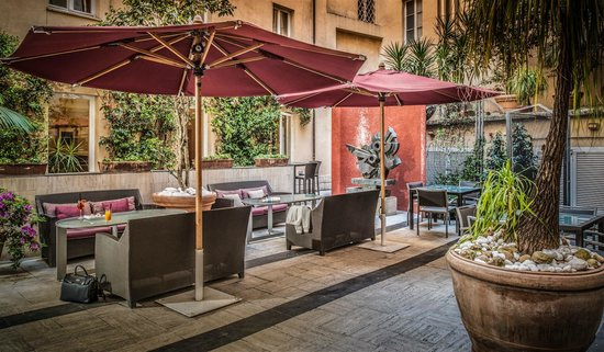 Fortyseven Hotel Rome: Courtyard - corte interna