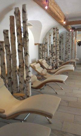 HUBERTUS Alpin Lodge&Spa: Spa Area