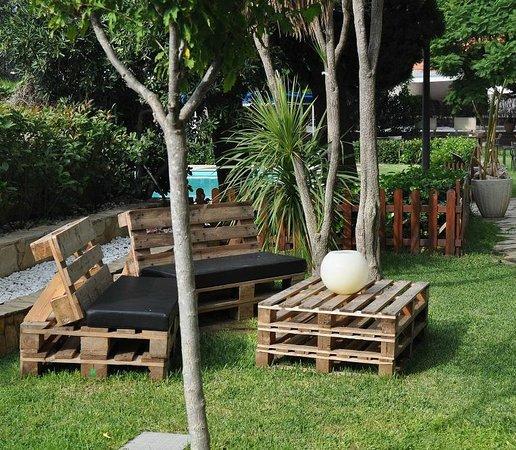 Hotel Imperial Tarraco: Bar Jardín