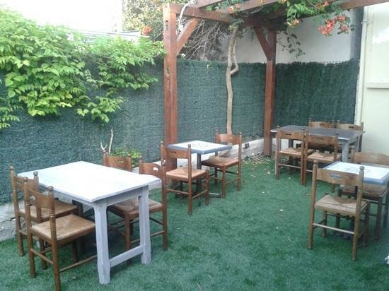 Restaurant du Man : terrasse, hyper sympa quand il fait beau !