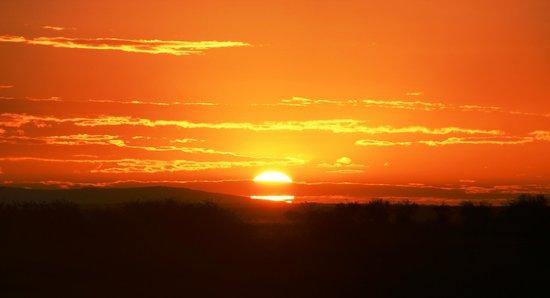 Mara Intrepids Luxury Tented Camp: Sunset