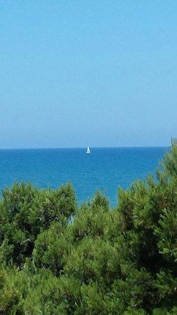 Avila Hotel : Una vista del mare dalla camera