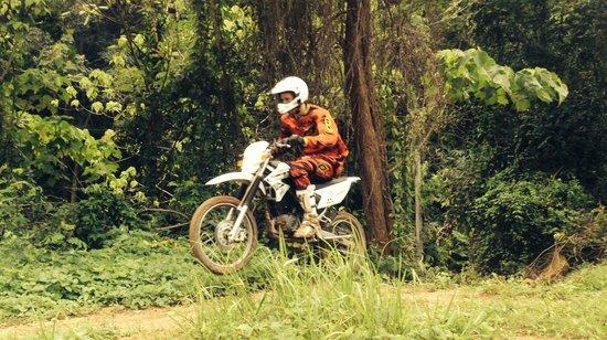Motocross Phuket: Me on the basic bike