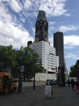 Hotel Crowne Plaza Berlin City Centre : ganz in der Nähe