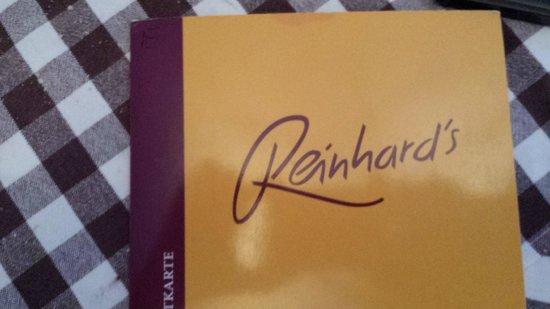 Reinhard's im Nikolaiviertel: Menu'