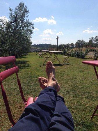 Villa Somelli: Relax in giardino