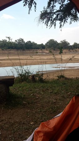 Croc Valley Camp: View from my tent! Great place!