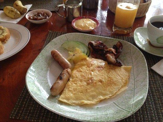 Bamboo Chalets: Frühstück