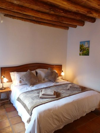 Casita de la Vaca: The room can be presented as either a super king size or twin beds