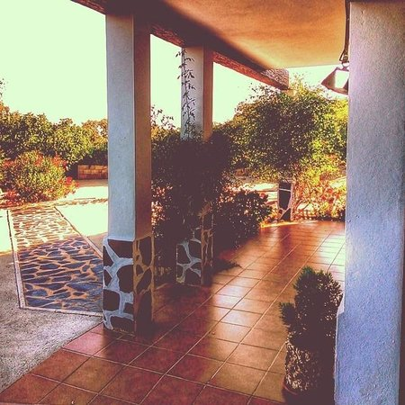 Alojamientos Rurales Berrocal: Porche