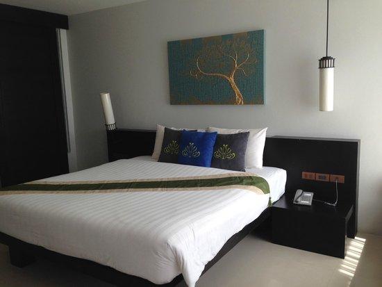 Palmyra Patong Resort : ในห้องนอนค่ะ
