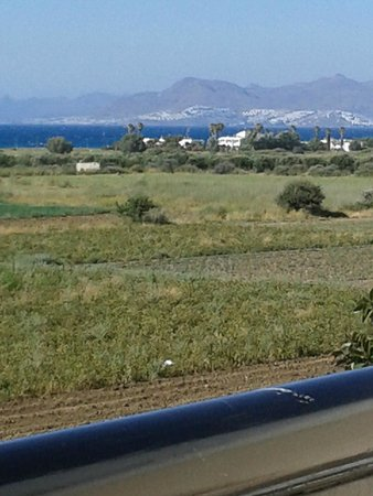 Sunset Hotel: View across to Bodrum, Turkey