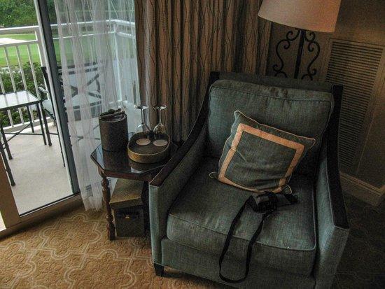 The Ritz-Carlton Orlando, Grande Lakes: The lounge area