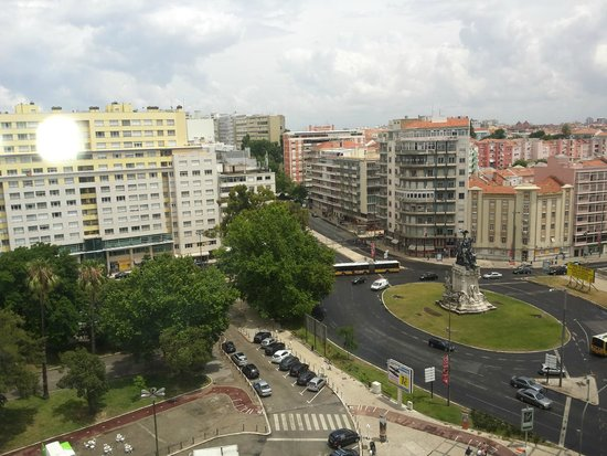 NH Lisboa Campo Grande: Vistas habitación 1003 NH Campo grande Lisboa