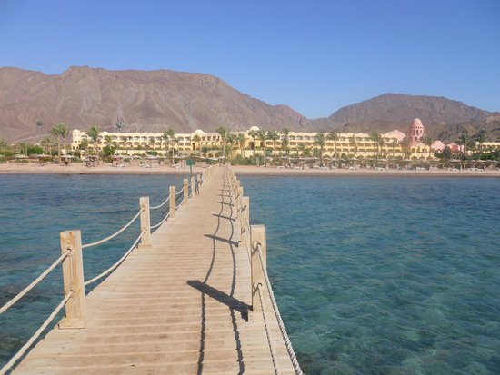 Sofitel Taba Heights: The pier