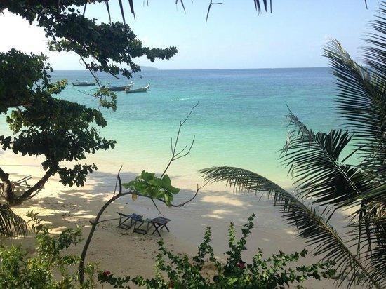 Phi Phi Relax Beach Resort : View from the hut