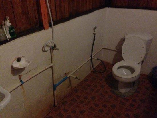 Phi Phi Relax Beach Resort : Disgusting toilets